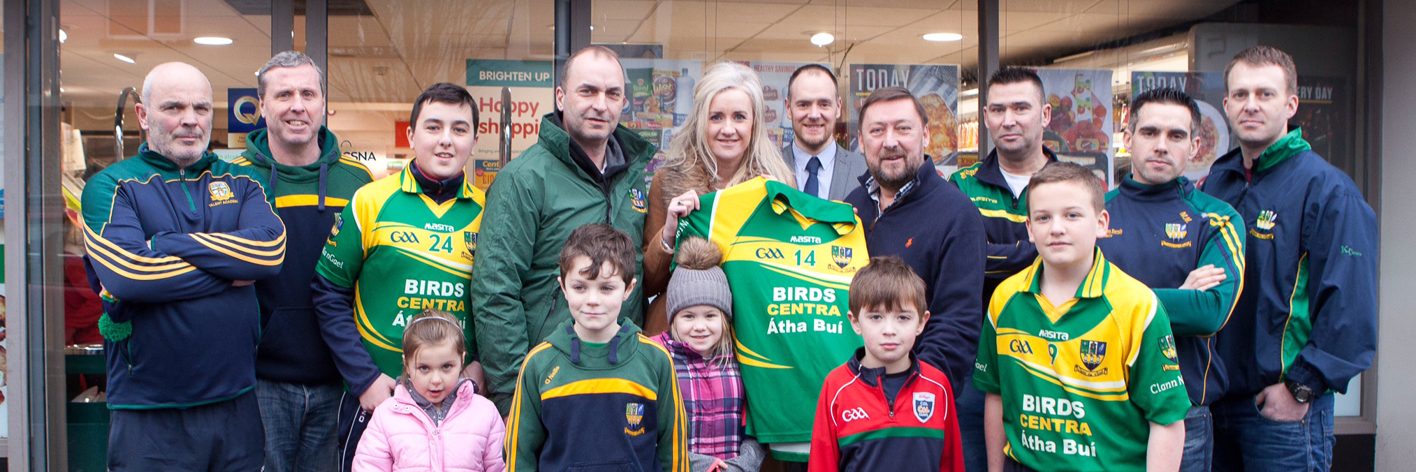 Unveiling the 2017 Clann na nGael jersey